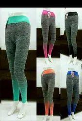 Ancle Length Smooth Ladies Yoga Leggings