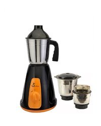 Green Home Aqua Mixer Grinder 450w With 3 Stainless steel Jar (Black & Orange)