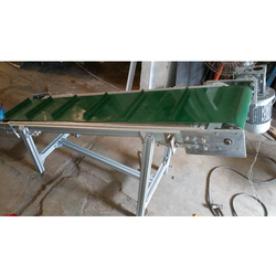 MS Inclined Pouch Take Up Conveyor