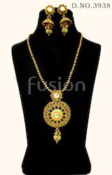 Traditional Antique Chain Pendant Set