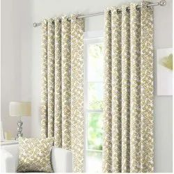 Eyelet Printed Curtain