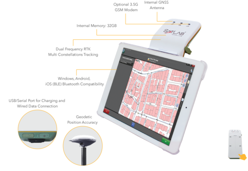 Authorized dealer for Satlab Geosolutions - SLC Multi-Purpose GNSS