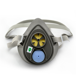 3M Half Face Reusable Respirator, 3200