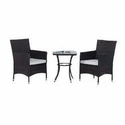 Universal Furniture Garden & Balcony Table with 2 Sofa Chair Set