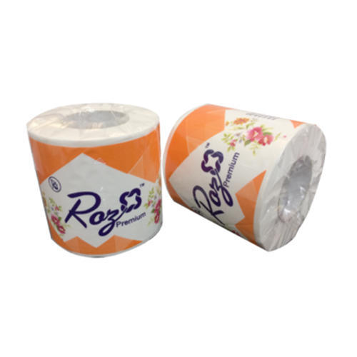 White Toilet Soft Paper Rolls