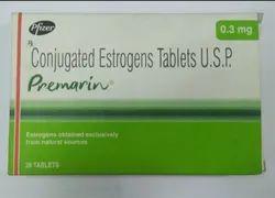 Conjugated Estrogen Premarin 0.3 Tablets