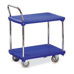 Blue Plastic Trolley