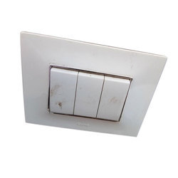 White Electrical Wall Switches