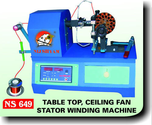 Automatic Single Table Top Ceiling Fan Stator Winding Machine Id 7211155488
