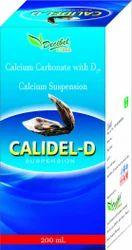 Calcium Carbonate with D Calcium Suspension