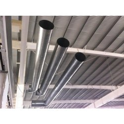 Exhaust Round Duct, For Industrial Use