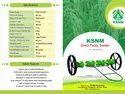 KSNM 8 Row Plastic Drum Seeder