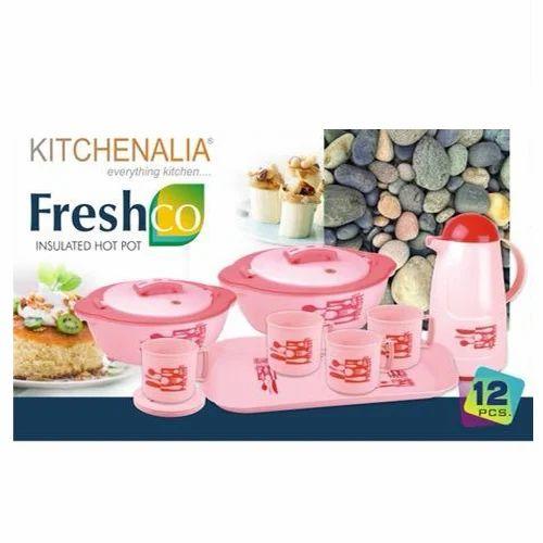 Plastic Freshco Insulated Hot Pot Casserole Set