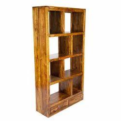 Modular Wooden Book Rack