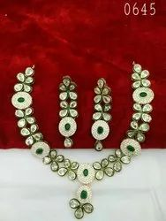 Kundan Choker Wedding Set