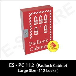 Large Lockout Padlock Cabinet - 112 Locks