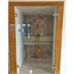 Transparent Rectangular Plain Glass, Thickness: 4 -12 mm