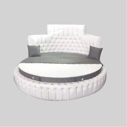 White Round Bed Foam Mattress For