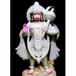 Blessing Hanuman Statue