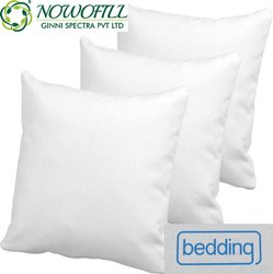 Plain White Cushion Pillow Inserts, Shape: Square