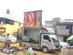 Video Outdoor Promotional LED Van Service, For Commercial, in Pan India