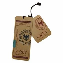 Brown Garment Hang Tag