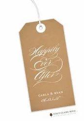Cardboard Garment Tag