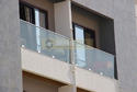 Lancer Aluminium Profile Glass Railings