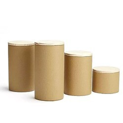 Brown Paper Canisters