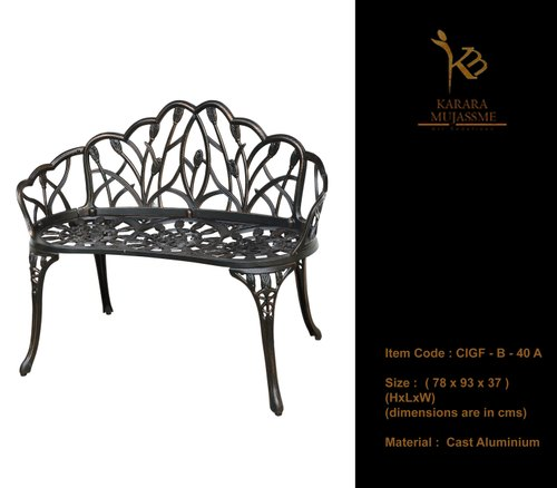 Strange 2 Seater Antique Victorian Cast Iron Garden Bench Beatyapartments Chair Design Images Beatyapartmentscom