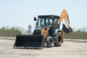Case 770ex Pro 76 Hp Backhoe Loader, Backhoe Bucket Capacity: 0.26 Cu M, Model: Carraro 2wd Tlb1