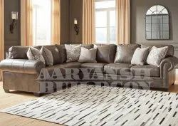Antique Leather Sofa Set, for Hotel