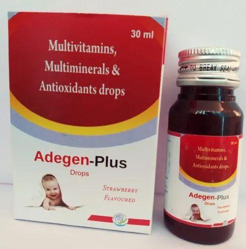 Multivitamins Multiminerals & Antioxidants Drops