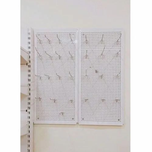 Perforated Hooks Rack