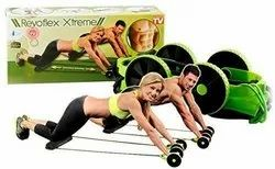 Revoflex Xtreme Home Gym Abs Exercise Fitness Training Machine for Men and Women-Revoflex Xtreme