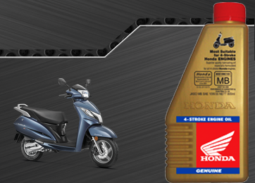Honda Scooter - Honda Genuine 4-Stroke Scooter Engine Oil