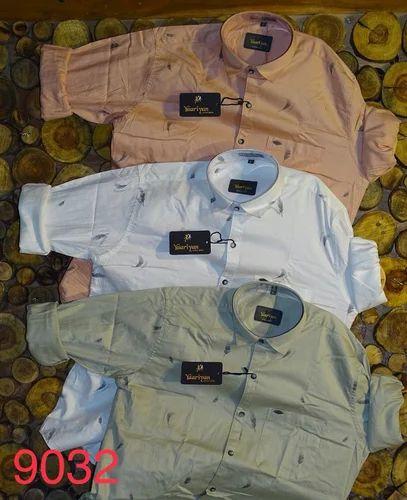 ec4ba0dd Blue Mufti Premium Shirts, Rs 415 /piece, Vandana Apparels | ID ...
