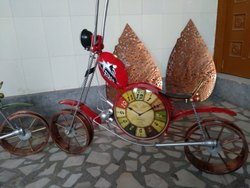 4ft Clock Motorcycle With Headlight