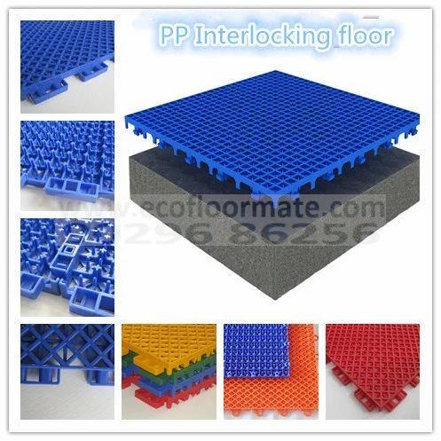Pp Tile Polypropylene Interlocking Tiles Multisports Thickness 10 12 Mm