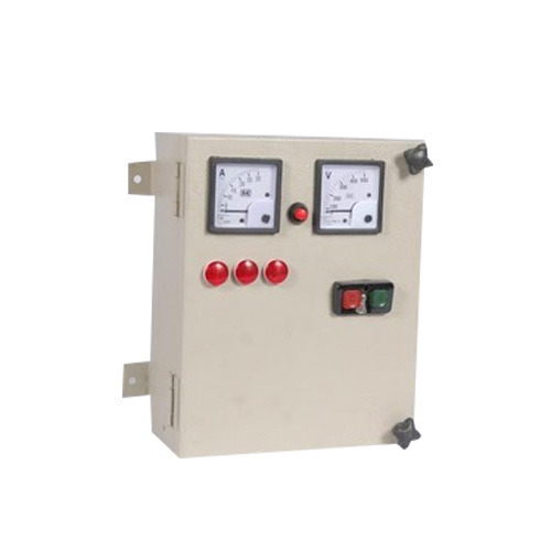 220V Three Phase 3 Phase Electrical Control Panel, IP Rating: IP44 ...