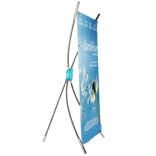 Mini X Banner Stand, X-Frame Banner Stand - P Four J Creations ...