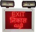 Industrial Exit Light