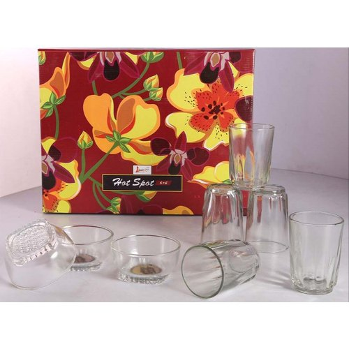 Richcraft International Hotspot Drinking Glass Set
