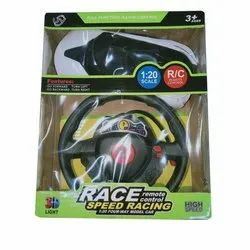 Plastic Remote Control High Speed Racing Toy Car