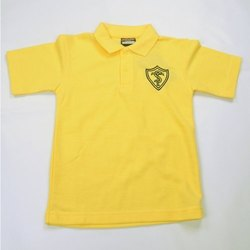 Yellow School Polo Shirts