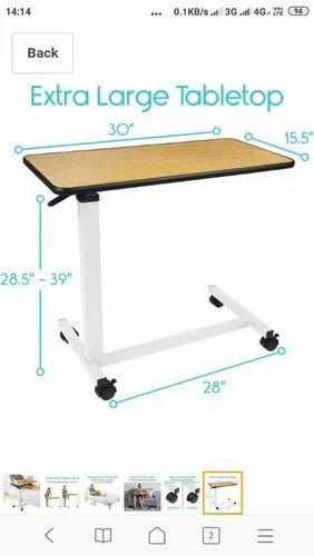 Golden Adjule Bedside Table Size