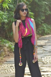 Designer Leheriya punjabi style dupatta