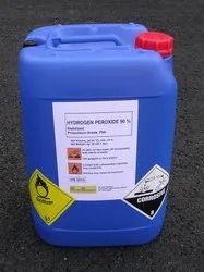 Industrial Grade Hydrogen Peroxide, 50%, Packaging Size: 25 kg to 50 kg