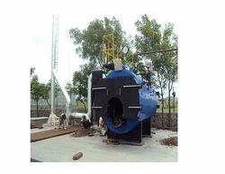 Steamgen Horizontal Wood Fired Steam Boiler, Capacity: 1000-2000 kg/hr