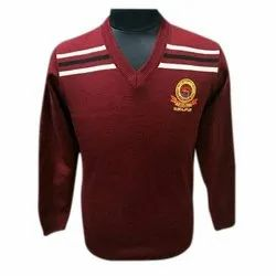 Maroon School Woolen Sweater